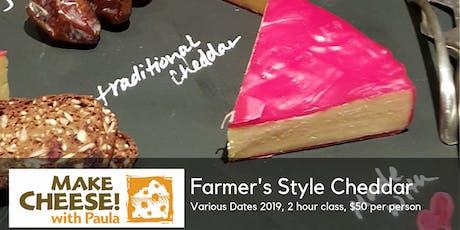 Farmer's Style Cheddar tickets