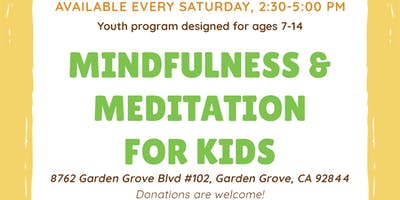 Mindfulness & Meditation Saturdays for Children at Bodhi Academy