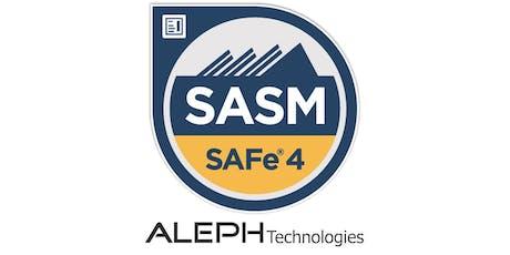 SAFe® Advanced Scrum Master (SASM) - Boston, Masachusetts tickets