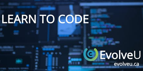 EvolveU Learn to Code tickets