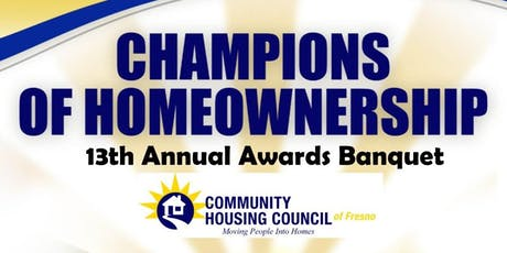 Champions of Homeownership Awards Banquet tickets