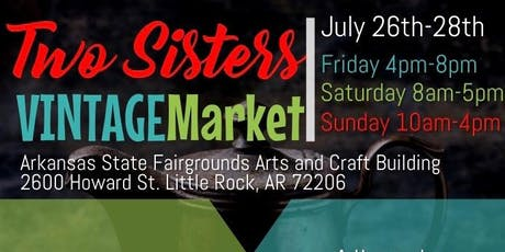 Two Sisters Vintage Market tickets