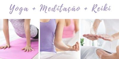 Vivência de Yoga, Meditação e Reiki