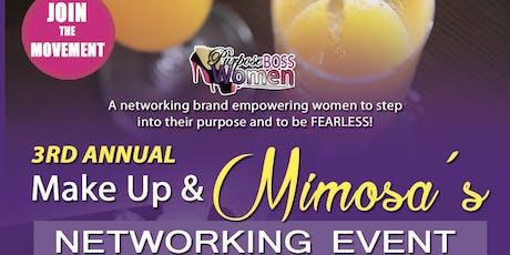 Make Up & Mimosas Vendor Event tickets