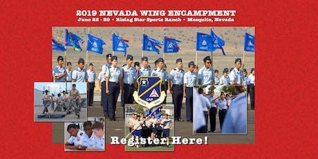 2019 CAP (Civil Air Patrol) Nevada Wing Training Corps Encampment tickets