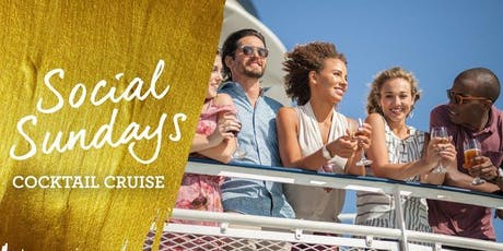 Social Sunday Happy Hour Cocktail Cruise tickets