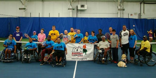 Adaptive Tennis at Cherry Hill Health and Raquet Club