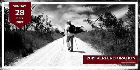 2019 Kerferd Oration tickets