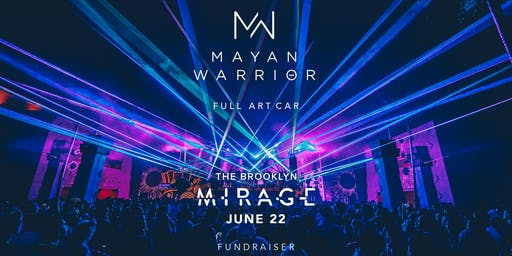 Mayan Warrior (Full Art Car) - Brooklyn Mirage