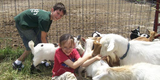 Farm Camp July 29-August 2, 2019 ages 8+