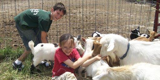 Farm Camp August 5-9, 2019 ages 8+