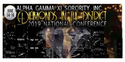 Diamonds in the District - 2019 Alpha Gamma Xi National Retreat