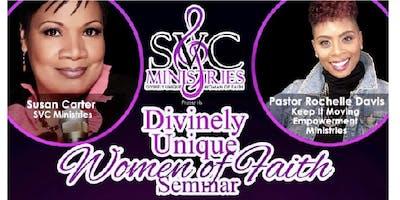 Divinely Unique Women of Faith Seminar