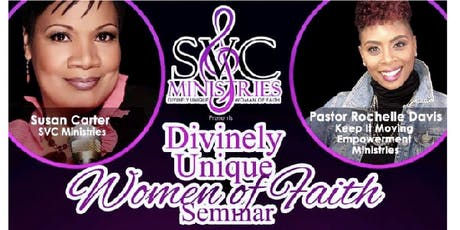 Divinely Unique Women of Faith Seminar (Postponed) tickets