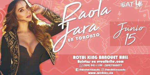 Paola Jara en Toronto