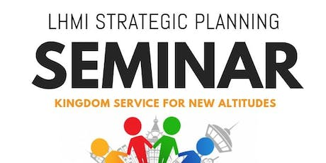 Strategic Planning Seminars 2019 tickets