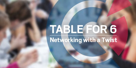 VIC | 'Table for 6' Gastronomic Dinner @Dans Le Noir? - 22 August 2019 tickets