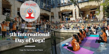 5th International Day of Yoga @ Rivercenter Mall  tickets