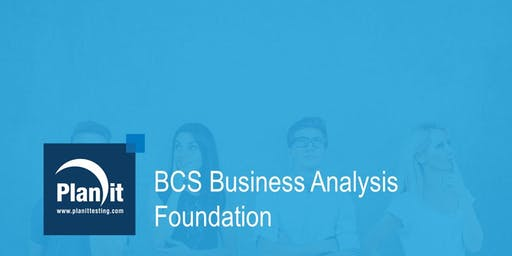 BCS Business Analysis Foundation Certificate - Perth