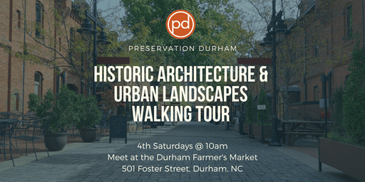 Durham's Architecture & Urban Landscape Walking Tour