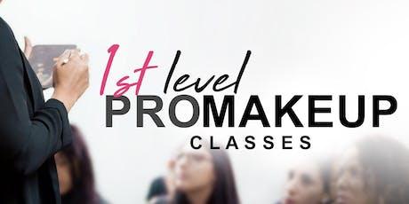 1st Level PRO Makeup Classes • Ponce entradas