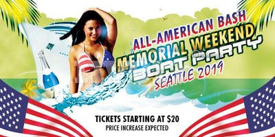 Memorial Day Weekend Boat Party Seattle 2019