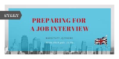 Workshop: Preparing for a job interview
