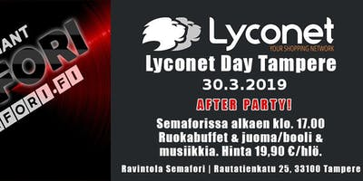 Lyconet Day After Party, Tampere 30.3.2019