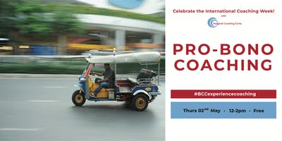 Pro-Bono Coaching - Celebrate the International Co