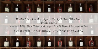 HOOLE OPEN AIR COURTYARD PARTY | RUM/GIN FEST
