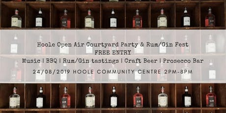 HOOLE OPEN AIR COURTYARD PARTY | RUM/GIN FEST  tickets