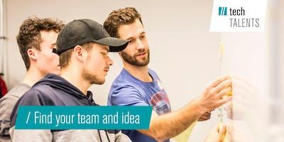 Teambuidling und Ideation Workshop UnternehmerTUM