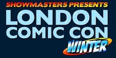 London Comic Con Winter 2019 tickets