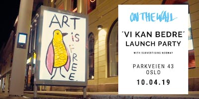 Vi kan bedre Q&A + Launch Party