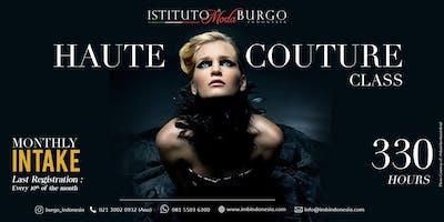 HAUTE COUTURE CLASS by Istituto di Moda Burgo Indonesia- 330 Hours