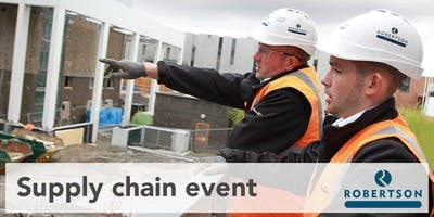 Robertson Construction Northern Supply Chain Event