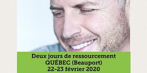 QUÉBEC -  COMPLET / Supplémentaire : 4-5 juillet 2020 www.MarcGervais.com