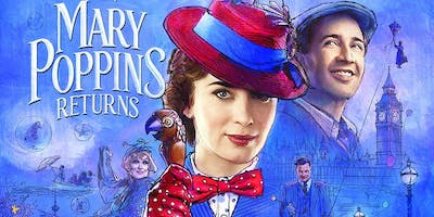 Mary Poppins Returns (+ Pizza!) with LIVE Mary Poppins