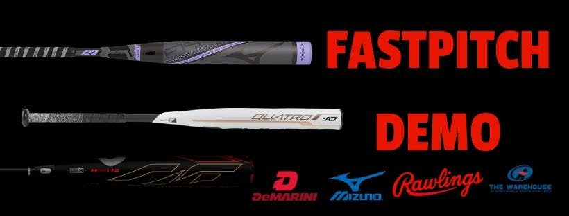 Ladies Only Fastpitch Demo at The Warehouse