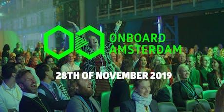 Onboard.Amsterdam 2019 tickets