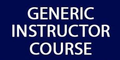 Generic Instructor Course (GIC) - Chelsea and Westminster Hospital 27th February 2020 tickets