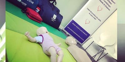 Basic Life Support and AED Workshop (Adult, Child and baby)