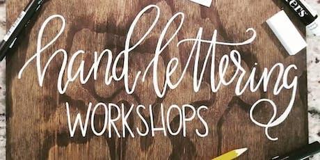 Beginner - Hand Lettering & Wood Sign Workshop tickets