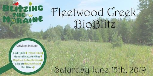 Blitzing the Moraine 2019! Fleetwood Creek BioBlitz