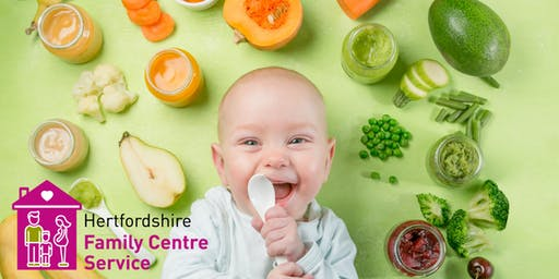 Introduction to Solid Foods - Three Parks Family Centre - 24 Jun, 1pm