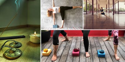 Hatha Yoga in a cosy place in Zürich April 2019