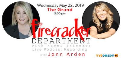 Jann Arden & Firecracker Department w. Naomi Snieckus