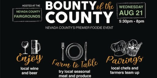 Bounty of the County 2019 - Putting Local on the Menu