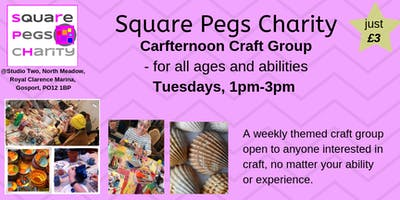 Crafternoon - Craft Group for all ages & abilities [£3]