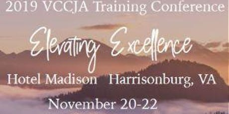 2019 VCCJA Conference:  tickets